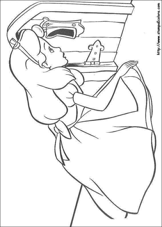 Disegni Di Alice Nel Paese Delle Meraviglie Da Colorare
