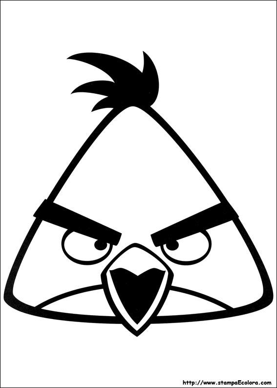 Disegni Da Colorare Angry Birds.Disegni Di Angry Birds Da Colorare