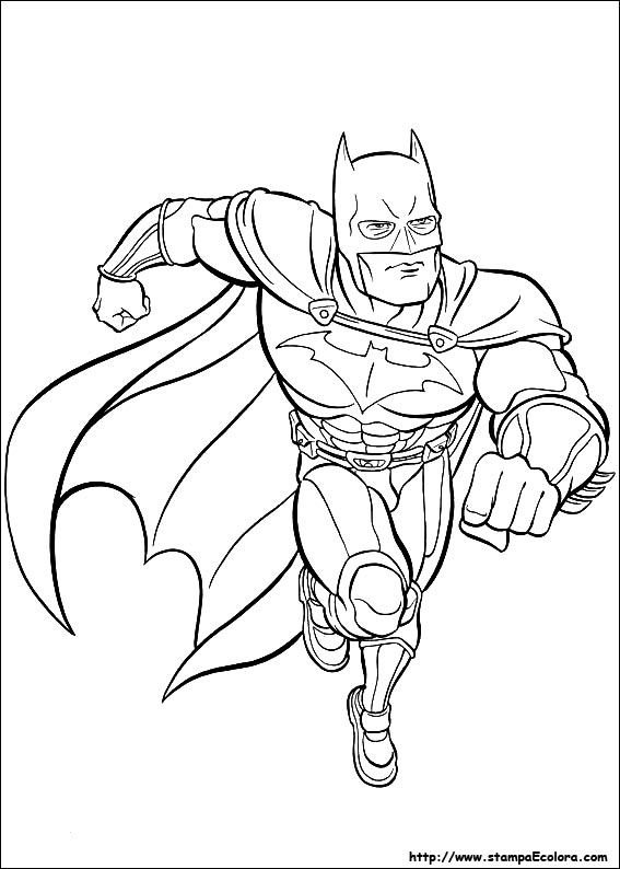 Disegni Di Batman Da Colorare