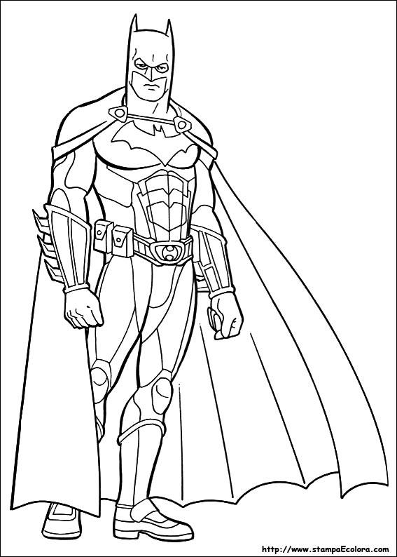 Disegni de batman for Immagini super eroi da colorare