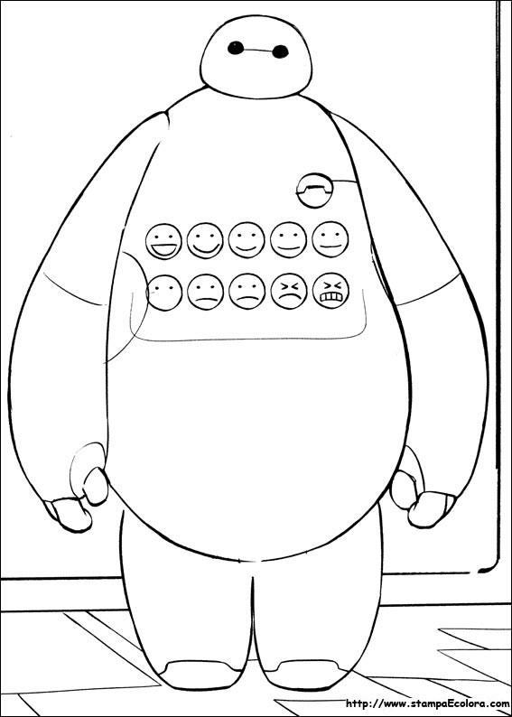 Disegni Di Big Hero 6 Da Colorare