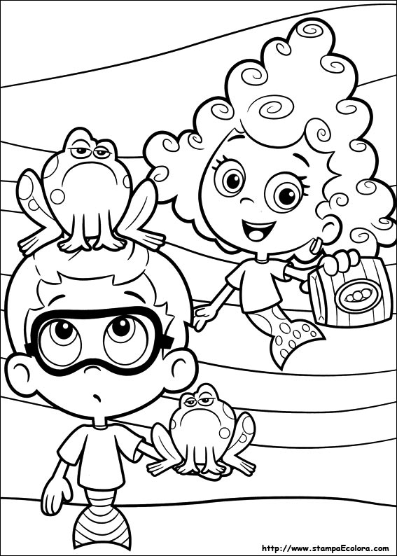 Disegni Bubble Guppies