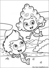 Disegni di bubble guppies da colorare for Bubbles guppies da colorare