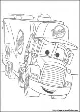 Disegni di cars da colorare - Coloriage cars mack ...