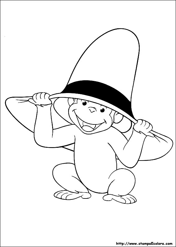 Disegni Di Curioso Come George Da Colorare