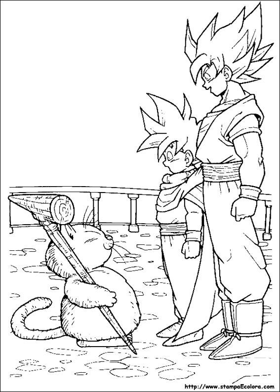 Disegni de dragon ball z - Papier peint dragon ball z ...