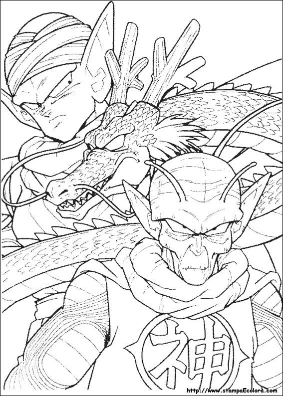 Disegni de dragon ball z - Coloriage dragon ball gt ...