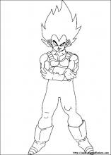Disegni Di Dragon Ball Z Da Colorare