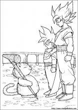 Disegni Da Colorare Gratis Goku.Disegni Di Dragon Ball Z Da Colorare
