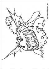 Immagini Dragon Trainer 3 Da Colorare.Disegni Di Dragontrainer Da Colorare