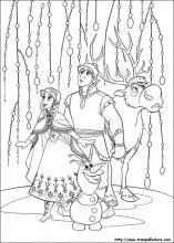 Disegni Di Frozen Il Regno Di Ghiaccio Da Colorare