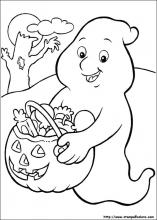 Disegni Di Halloween Facili.Disegni Di Halloween Da Colorare