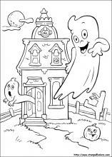 Disegni Colorare Halloween.Disegni Di Halloween Da Colorare