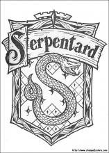 Disegni di Harry Potter da colorare