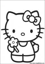 Disegni Di Hello Kitty Da Colorare
