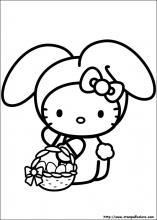 Disegni Di Hello Kitty Da Colorare Stampa E Color