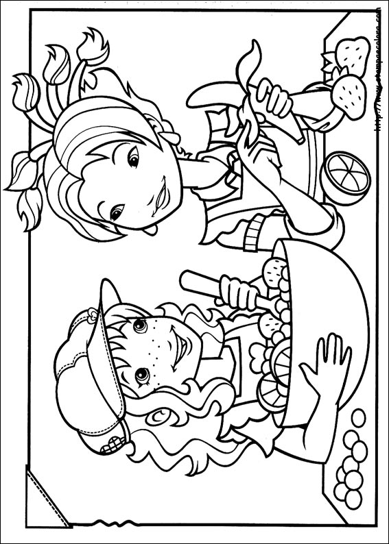 Disegni de holly hobbie for Holly hobbie coloring pages