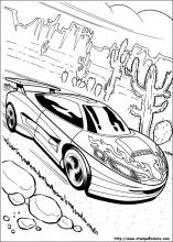 disegni da colorare di hot wheels