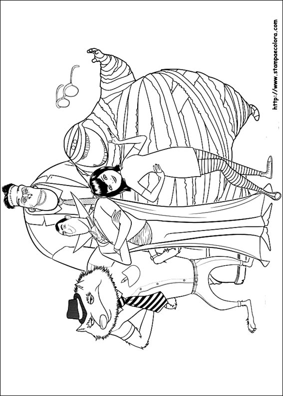 coloring pages hotel - photo#13