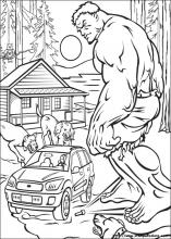 Disegni Di Hulk Da Colorare Stampa E Color