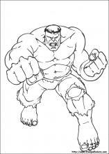 disegni da colorare hulk lego
