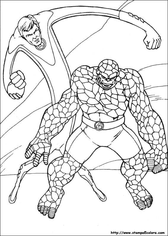 elastico superheroes coloring pages - photo#22
