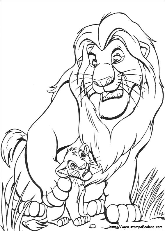 lion king coloring pages google - photo#3