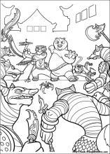 Disegni Di Kung Fu Panda 2 Da Colorare