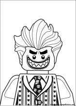 Joker Da Colorare.Disegni Di Lego Batman Da Colorare