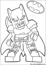 Harley Quinn Lego Coloring Pages