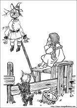 Disegni Di Il Mago Di Oz Da Colorare