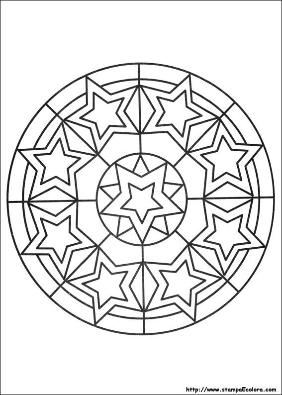 Disegni de mandala for Disegni di mandala semplici