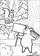 Disegni Di Masha E Orso Da Colorare