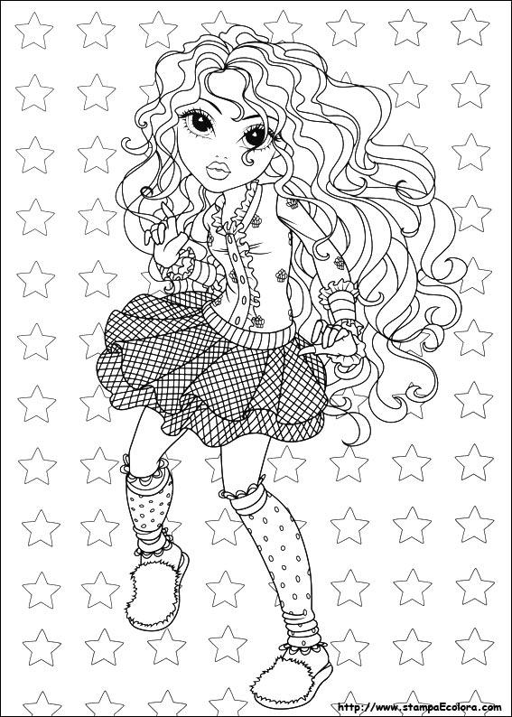 Disegni de moxie girlz - Moxie girlz pagine da colorare ...