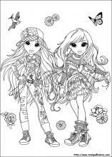 Disegni di moxie girlz da colorare - Moxie girlz pagine da colorare ...