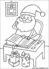 Disegni Di Natale Stampa E Colora.Disegni Di Natale Da Colorare