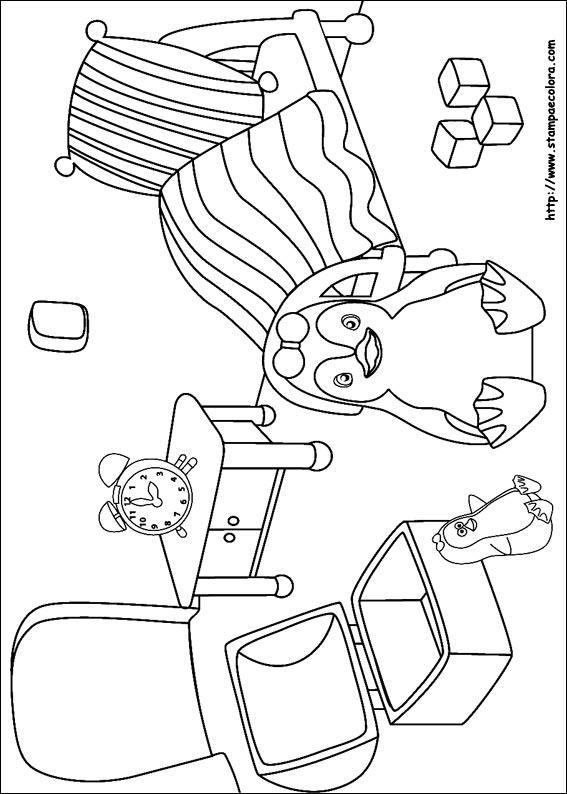 Coloriage Accessoire Chambre : Disegni de ozie boo