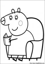 Disegni Di Peppa Pig Da Colorare
