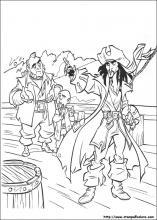 Disegni Di Pirati Dei Caraibi Da Colorare