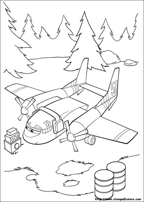 Disegni De Planes 2 Missione Antincendio