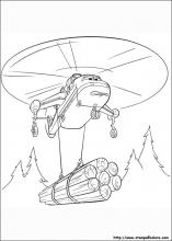 disegni di planes 2 missione antincendio da colorare