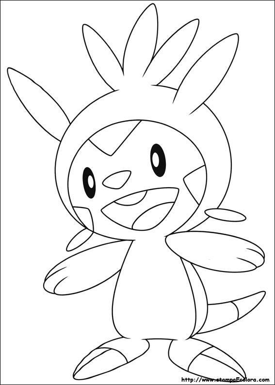 Disegni de pokemon for Pokemon da colorare e stampare