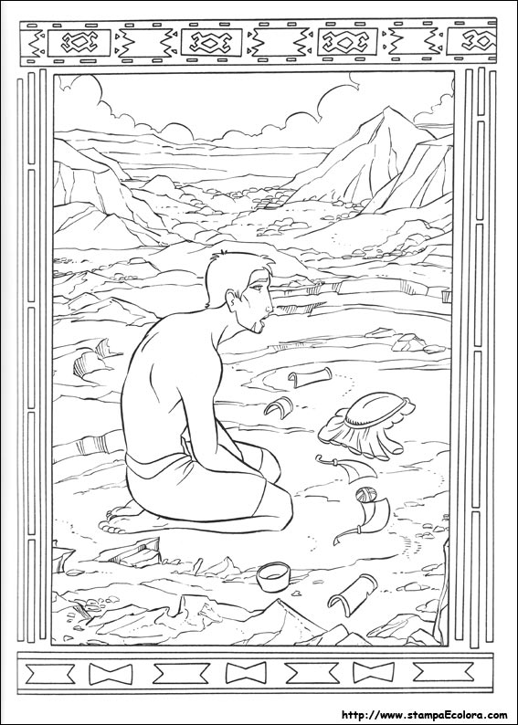 Disegni de il principe d 39 egitto for Joseph king of dreams coloring pages