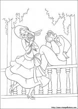 Disegni Di La Principessa E Il Ranocchio Da Colorare From The Princess And The Frog Free Coloring Sheets