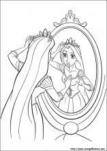 Disegni Di Rapunzel Da Colorare Stampa E Color
