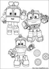 Disegni Di Robot Trains Da Colorare