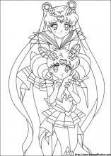 Disegni Di Sailor Moon Da Colorare