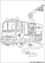 Disegni Di Sam Il Pompiere Da Colorare