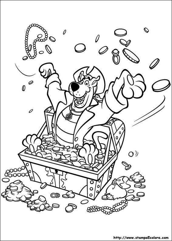 Disegni de scooby doo - Coloriage de scooby doo ...