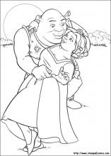 Disegni Di Shrek Da Colorare